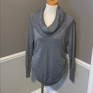 Motherhood Maternity Cowl Neck Sweater